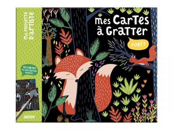 Acheter Mes cartes a gratter - foret - Mel Armstrong - 7,00€ en ligne sur La Petite Epicerie - Loisirs créatifs