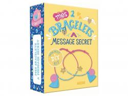 Acheter Coffret créatif - Mes 2 bracelets à message secret - Sandrine Monnier - 5,50€ en ligne sur La Petite Epicerie - Lois...