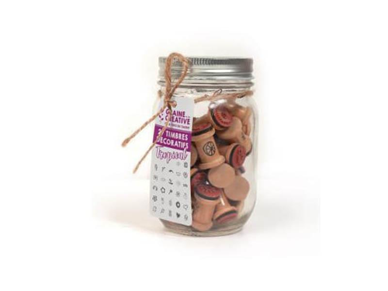 Acheter Lot de 27 mini tampons décoratifs - 10,99€ en ligne sur La Petite Epicerie - 100% Loisirs créatifs