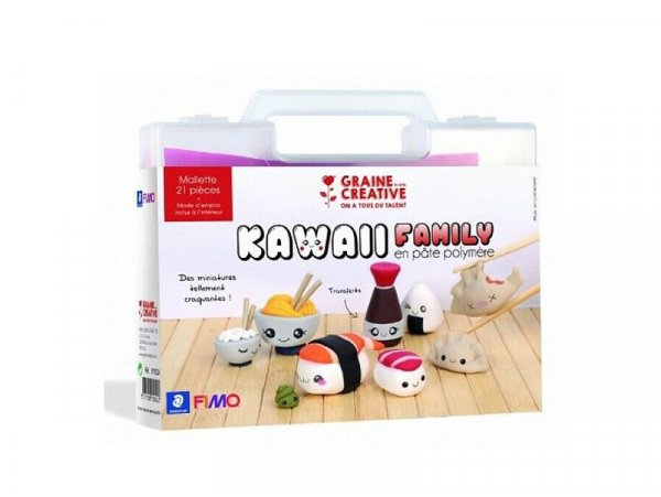 Acheter Malette Fimo - Kawaii family - 34,49€ en ligne sur La Petite Epicerie - Loisirs créatifs