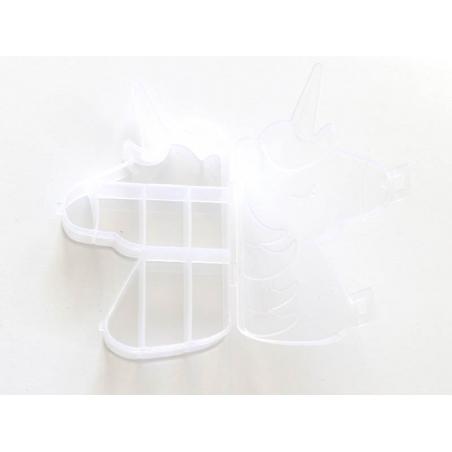 Acheter Boite de rangement licorne avec ses 8 compartiments - 2,99€ en ligne sur La Petite Epicerie - Loisirs créatifs