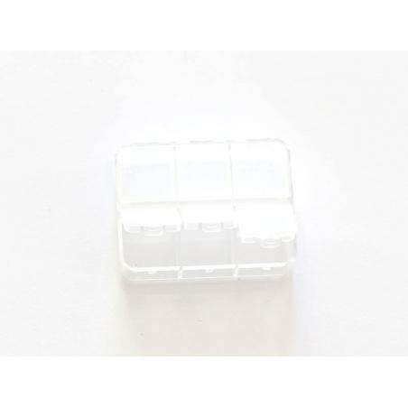 Acheter Petite boite de rangement avec 6 compartiments - 2,39€ en ligne sur La Petite Epicerie - Loisirs créatifs