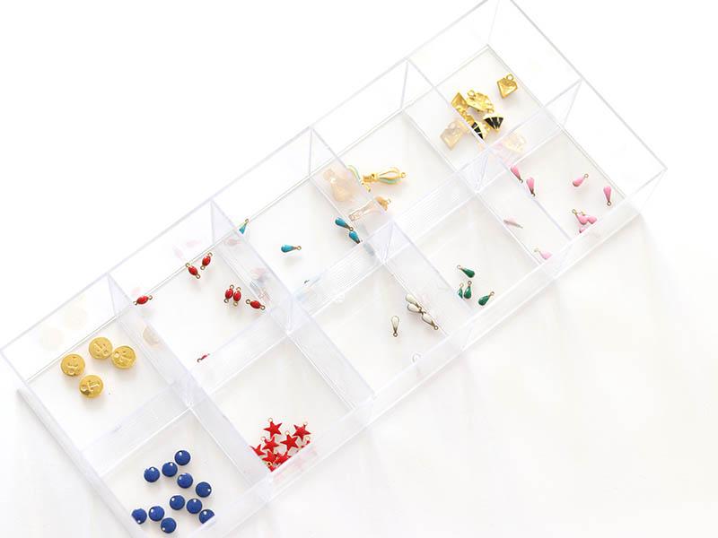Acheter Support rectangulaire avec 10 compartiments - 10,90€ en ligne sur La Petite Epicerie - Loisirs créatifs
