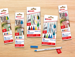 Acheter 5 feutres pour textile Edding - multicolores - 1 mm - 5,99€ en ligne sur La Petite Epicerie - 100% Loisirs créatifs