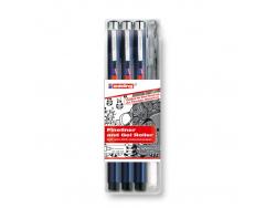 Acheter Set de 3 feutres + feutre gel argenté - Edding - 12,99€ en ligne sur La Petite Epicerie - Loisirs créatifs