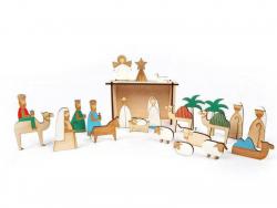Acheter Calendrier de l'Avent en bois - Crèche de Noel - Meri Meri - 31,49€ en ligne sur La Petite Epicerie - 100% Loisirs c...