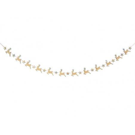 Acheter Mini Guirlande Renne - Meri Meri - 7,49€ en ligne sur La Petite Epicerie - Loisirs créatifs