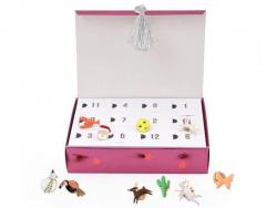 Acheter Calendrier de l'Avent aux pin's émaillés - Meri Meri - 31,49€ en ligne sur La Petite Epicerie - 100% Loisirs créatifs
