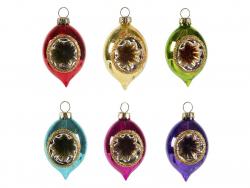 Acheter Set de 6 boules de Noël couleurs métalliques - Sass and Belle - 19,79€ en ligne sur La Petite Epicerie - Loisirs cré...