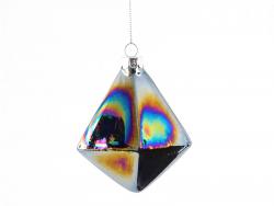 Acheter Suspension de Noël diamant noir métallique - Sass and Belle - 2,19€ en ligne sur La Petite Epicerie - Loisirs créatifs