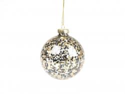 Acheter Boule de Noël étoiles noires et dorées - Sass and Belle - 1,89€ en ligne sur La Petite Epicerie - Loisirs créatifs