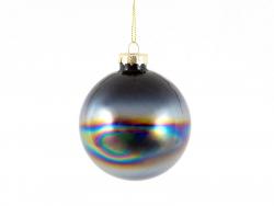 Acheter Boule de Noël noire métallique - Sass & Belle - 3,29€ en ligne sur La Petite Epicerie - Loisirs créatifs
