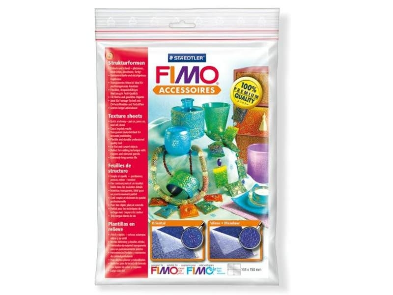 2 Fimo texture sheets - Oriental