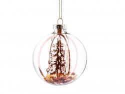Acheter Boule de Noël sapin cuivre et étoiles dorées - Sass & Belle - 2,19€ en ligne sur La Petite Epicerie - 100% Loisirs c...