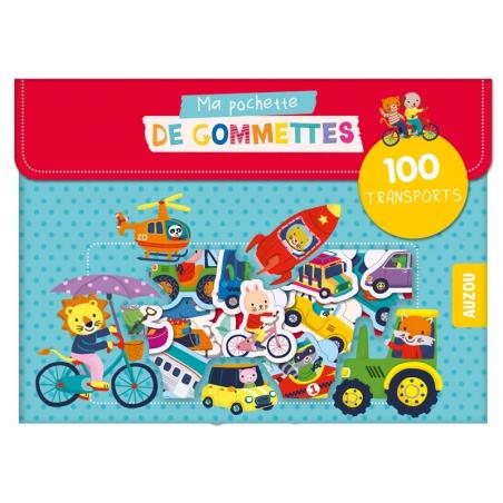 Acheter Pochette de gommettes - Les transports - Jannie Ho - 3,95€ en ligne sur La Petite Epicerie - 100% Loisirs créatifs