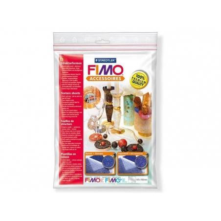 Acheter 2 plaques de texture FIMO - baroque / art nouveau - 7,90€ en ligne sur La Petite Epicerie - Loisirs créatifs