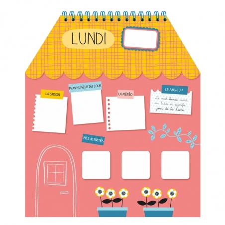 Acheter Mon premier semainier à animer - Maryse Guittet - 17,50€ en ligne sur La Petite Epicerie - 100% Loisirs créatifs