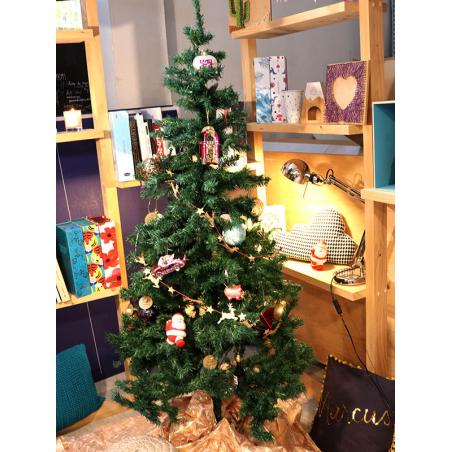 Acheter Boule de Noël transparente quadrillage doré - Sass and Belle - 2,19€ en ligne sur La Petite Epicerie - 100% Loisirs ...