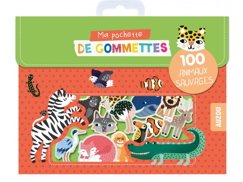 Acheter Pochette de 100 Gommettes - Animaux sauvages - Editions Auzou - 3,95€ en ligne sur La Petite Epicerie - Loisirs créa...
