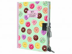 Acheter Journal intime donuts avec cadenas - 15,49€ en ligne sur La Petite Epicerie - 100% Loisirs créatifs