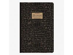 Acheter Cahier B5 Be Smart - noir et doré - Legami - 4,49€ en ligne sur La Petite Epicerie - Loisirs créatifs