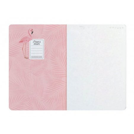 Acheter Cahier A5 - Flamants roses - 3,39€ en ligne sur La Petite Epicerie - 100% Loisirs créatifs
