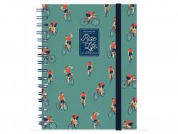 Acheter Carnet A5 à spirale - Cyclistes - 6,79€ en ligne sur La Petite Epicerie - Loisirs créatifs