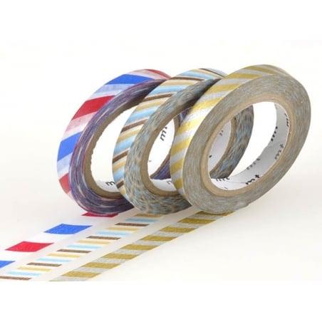 Acheter Masking tape trio slim - bicolore twist métallique - 3,99€ en ligne sur La Petite Epicerie - Loisirs créatifs