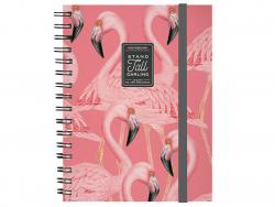 Acheter Carnet A5 à spirales - Flamants roses - 6,79€ en ligne sur La Petite Epicerie - 100% Loisirs créatifs