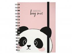 Acheter Carnet A5 à spirale - Panda rose câlin - 6,79€ en ligne sur La Petite Epicerie - 100% Loisirs créatifs