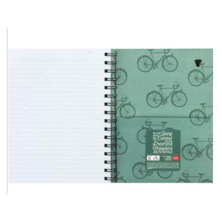 Acheter Carnet A5 à spirale - Vélo de course - 6,79€ en ligne sur La Petite Epicerie - 100% Loisirs créatifs