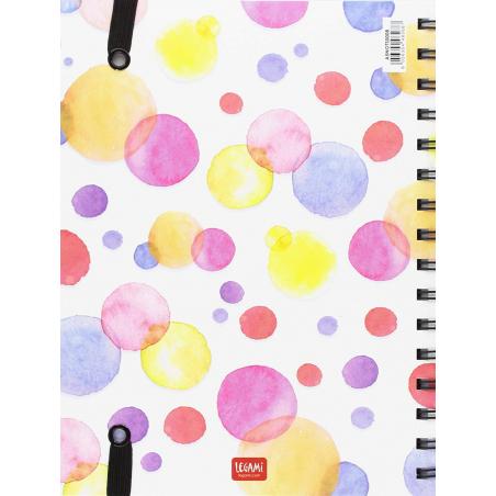 Acheter Carnet A5 à spirale - Happiness - 6,79€ en ligne sur La Petite Epicerie - 100% Loisirs créatifs