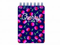 Acheter Mini carnet à spirale - cerises - 4,49€ en ligne sur La Petite Epicerie - 100% Loisirs créatifs
