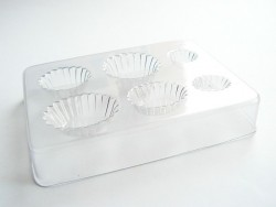 Plastic mould for cupcakes and cakes