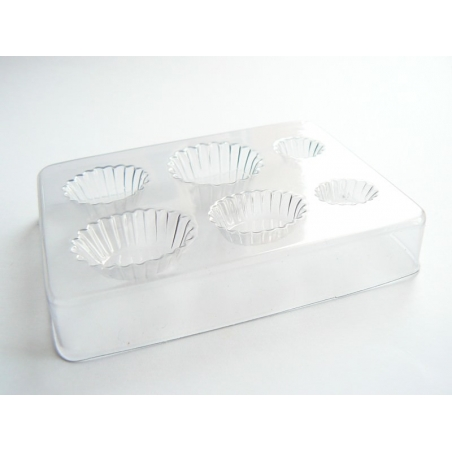 Moule plastique pour cupcakes et tartes
