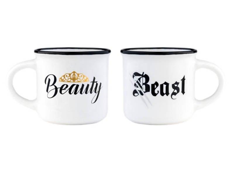 Acheter Mini tasses en porcelaine - Beauty and the beast - 10,99€ en ligne sur La Petite Epicerie - 100% Loisirs créatifs