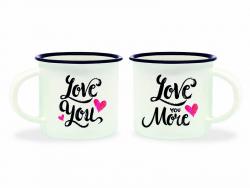 Acheter Mini tasses en porcelaine - Love - 10,99€ en ligne sur La Petite Epicerie - 100% Loisirs créatifs