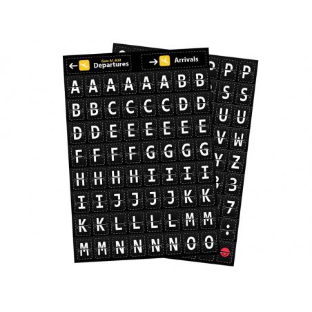 Acheter Lettres magnétiques - Aéroport - 6,79€ en ligne sur La Petite Epicerie - 100% Loisirs créatifs