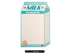 Acheter Tableau blanc magnétique Bouteille de lait - Legami - 9,99€ en ligne sur La Petite Epicerie - 100% Loisirs créatifs