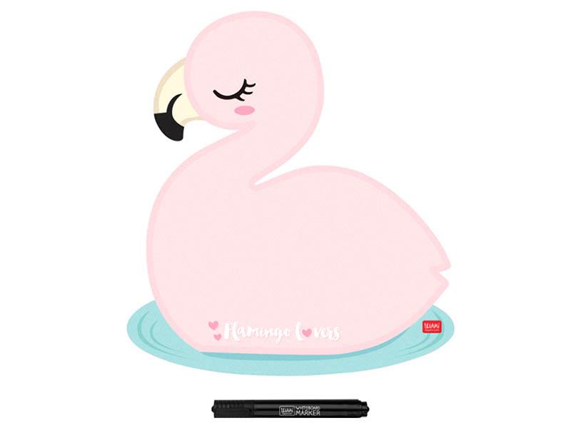 Acheter Tableau magnétique Flamant rose - Legami - 9,99€ en ligne sur La Petite Epicerie - 100% Loisirs créatifs