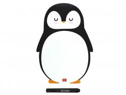 Acheter Tableau blanc magnétique Pingouin - Legami - 9,99€ en ligne sur La Petite Epicerie - 100% Loisirs créatifs