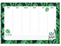 Acheter Tapis de souris en papier et bloc-notes / motif jungle - 6,79€ en ligne sur La Petite Epicerie - Loisirs créatifs