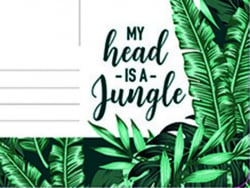 Acheter Tapis de souris en papier et bloc-notes / motif jungle - 6,79€ en ligne sur La Petite Epicerie - 100% Loisirs créatifs