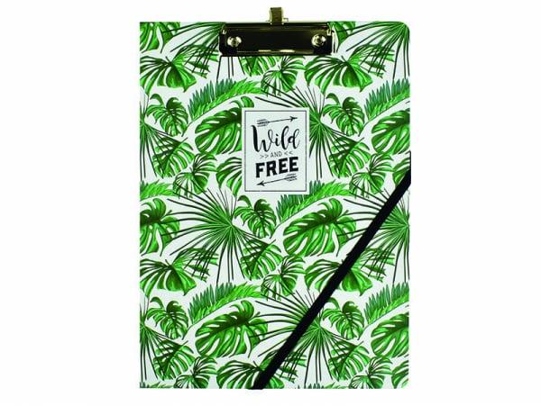 Acheter Porte-document avec pince - feuilles vertes - 10,99€ en ligne sur La Petite Epicerie - 100% Loisirs créatifs