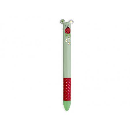 Acheter Stylo bicolore bleu et rouge - coccinelle - Legami - 1,79€ en ligne sur La Petite Epicerie - Loisirs créatifs