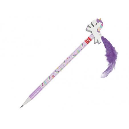Acheter Crayon à papier avec gomme Licorne - Legami - 3,49€ en ligne sur La Petite Epicerie - Loisirs créatifs