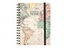 Acheter Carnet A5 à spirale Travel - Legami - 6,79€ en ligne sur La Petite Epicerie - 100% Loisirs créatifs
