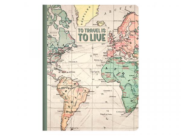 Acheter Cahier A5 Travel - Legami - 3,39€ en ligne sur La Petite Epicerie - Loisirs créatifs