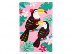 Acheter Carnet A5 toucans - Sass and Belle - 3,09€ en ligne sur La Petite Epicerie - 100% Loisirs créatifs