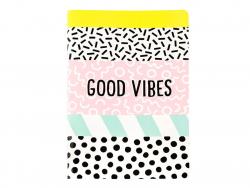 Acheter Carnet A5 Good vibes - Sass and Belle - 1,09€ en ligne sur La Petite Epicerie - 100% Loisirs créatifs